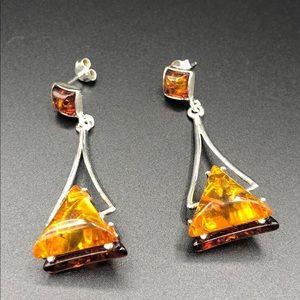 Jewelry - Amber earrings
